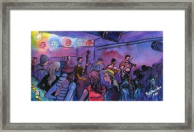 Whitewater Ramble At The Barkley Framed Print by David Sockrider