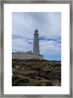 Whitley Bay St Mary's Lighthouse Framed Print