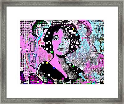 Whitney Houston Sing For Me Again 2 Framed Print