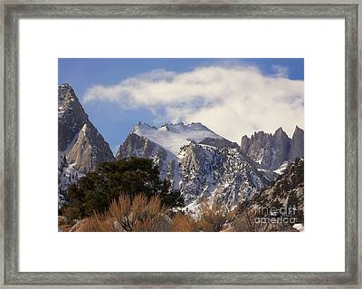 Whitney Portal - California Framed Print by Glenn McCarthy Art and Photography