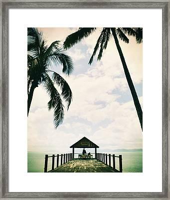Whitsunday Island Framed Print by Sherri Abell