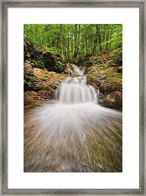 Whittier Falls Framed Print by Robert Clifford