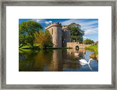 Whittington Castle Framed Print by David Ross