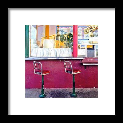 Restaurant Framed Prints
