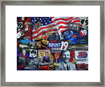 Whnt 50 Years Framed Print