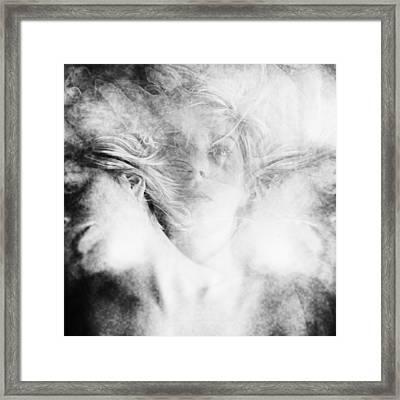 Who Am I Framed Print by Anca Magurean