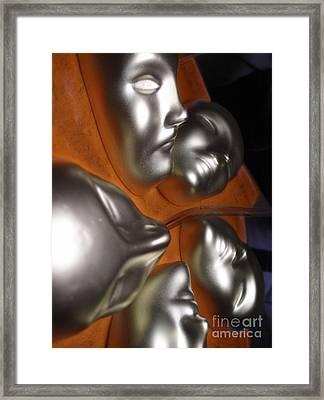 Quis Enim Es Tu? Framed Print