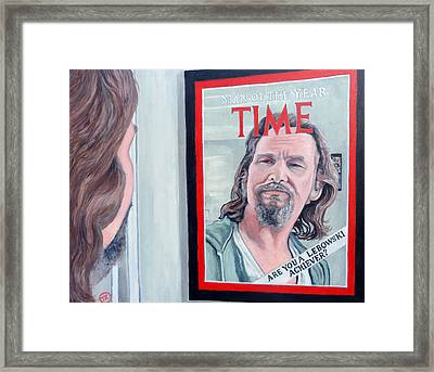 Who Is This Guy Framed Print by Tom Roderick