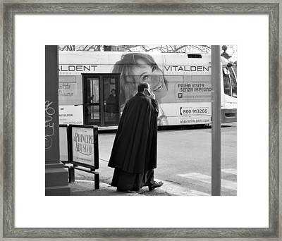 Who? Framed Print by Janet  Roth