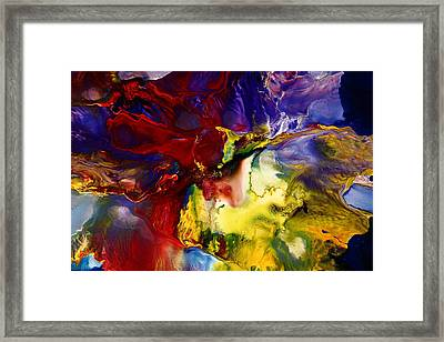 Who Knows Modern Abstract Art Framed Print