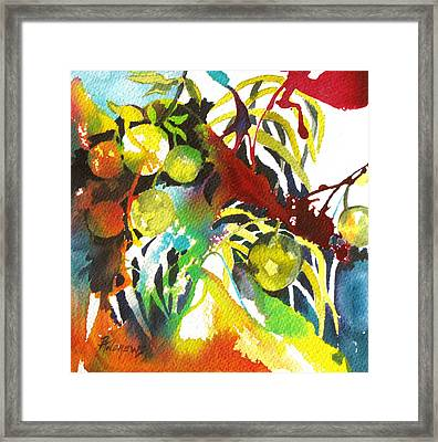 Who Wants Lemonade Framed Print by Rae Andrews