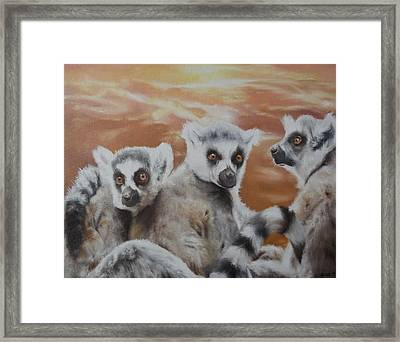 Who What Where Framed Print by Cherise Foster