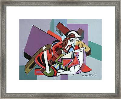 Who Will Take This Cup Framed Print by Anthony Falbo