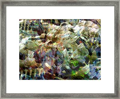 Whocome5dd Framed Print by Immo Jalass
