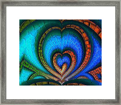 Whole-hearted Framed Print by Wendy J St Christopher