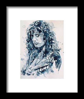 Jimmy Page Framed Prints