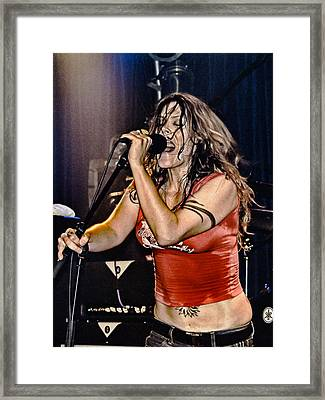 Whole Lotta Power Framed Print