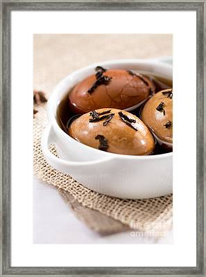 Whole Smoked Eggs Framed Print