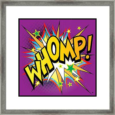 Whomp Framed Print by Gary Grayson