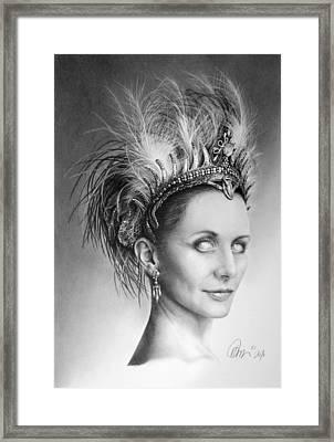 Who's Stella Framed Print by Mario Pichler
