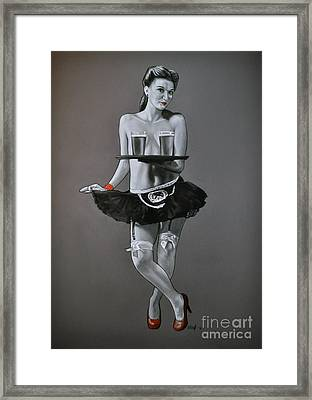 Who's Thirsty Framed Print by Joe Dragt