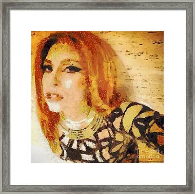 Whose Artpoppin Framed Print by Catherine Lott