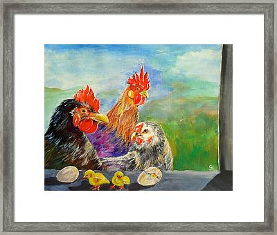 Whose Egg Isthat Framed Print