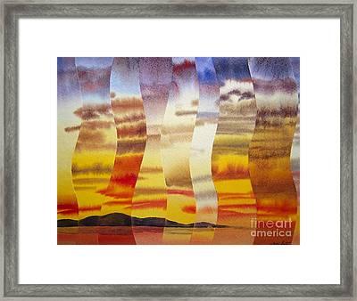 Why I Love You Framed Print by Jeni Bate
