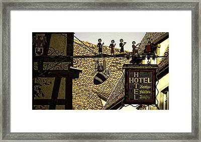 Why Not? Framed Print by Joanna Madloch