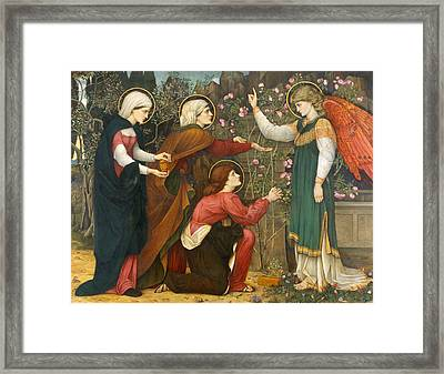 Why Seek Ye The Living Among The Dead Framed Print by Mountain Dreams