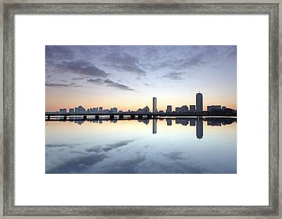 Why So Quiet Boston Framed Print by Juergen Roth
