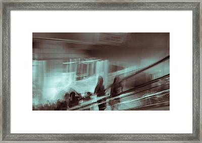 Framed Print featuring the photograph Why Walk When You Can Ride by Alex Lapidus