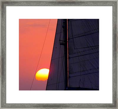 Why We Sail Framed Print