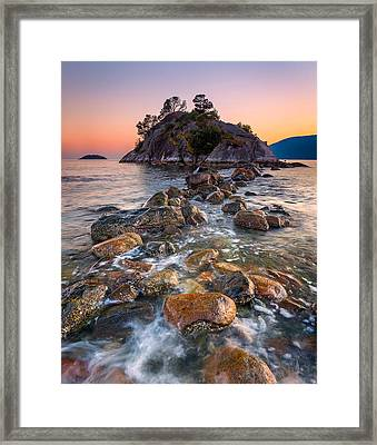 Whyte Islet Framed Print by Alexis Birkill