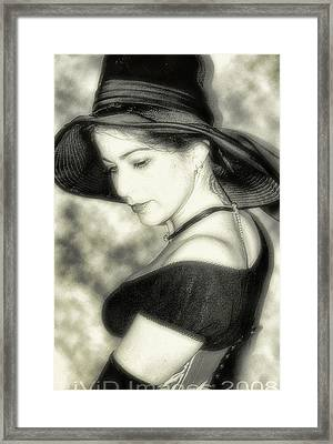 Wiccan Lady Framed Print