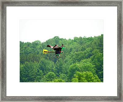 Wicked And Flying Framed Print by Thomas Young