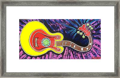 Wicked Axe Framed Print by Bill Solley