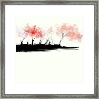 Wicked Beautiful #2 Framed Print by Jessica Wright