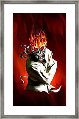 Wicked Insanity By Spano Framed Print