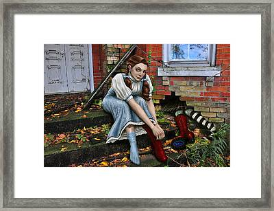 Wicked Framed Print by Mark Zelmer