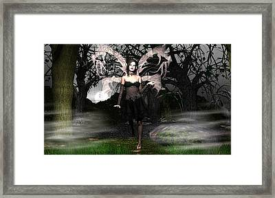 Wicked Night Framed Print