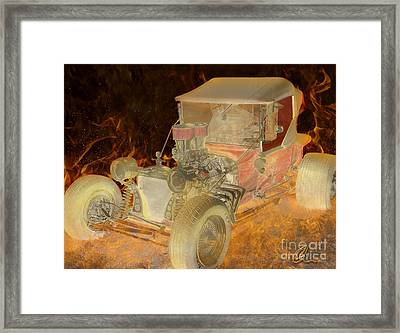 Wicked Ride Framed Print by Chris Thomas