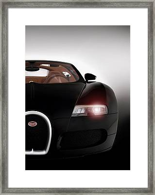 Wicked Veyron Framed Print