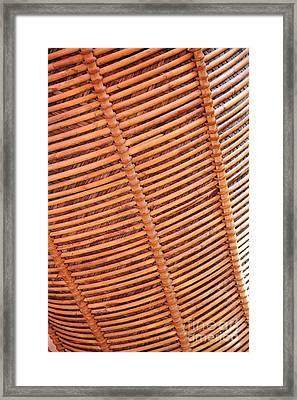 Wicker #2 Framed Print