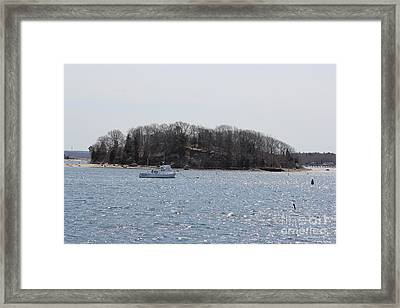 Wicket Island - Onset Massachusetts Framed Print