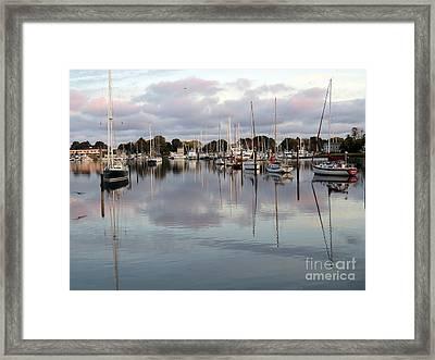 Wickford Evening II Framed Print