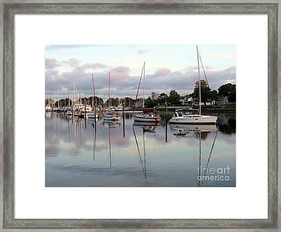 Wickford Evening IIi Framed Print