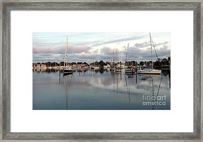 Wickford Evening Framed Print