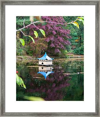 Wickham Oriental Pond Framed Print