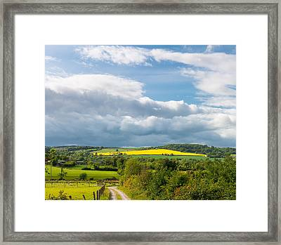 Wicklow Landscape Framed Print by Semmick Photo